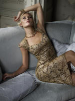 Phase Eight Autumn/Winter 2006 Dress �150, Bracelet �20, Necklace �20.